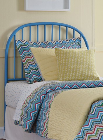Bronilly Powder coat Twin Metal Headboard