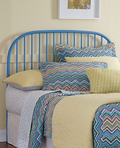 Bronilly Powder coat Full Metal Headboard