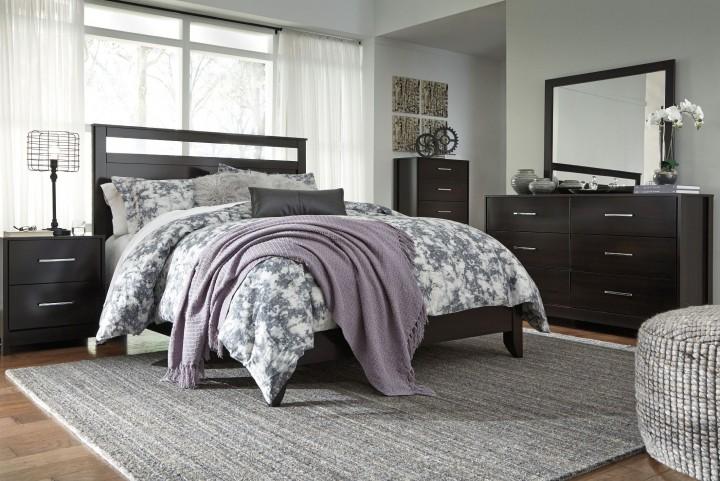 Agella Merlot Panel Bedroom Set