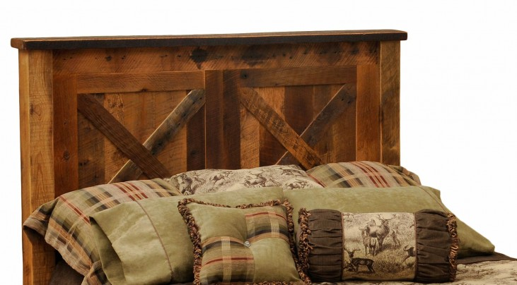 Barndoor Queen Headboard