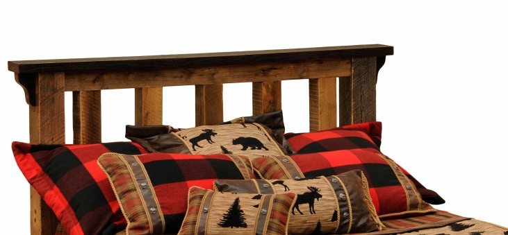 Barnwood Cal. King Post Headboard