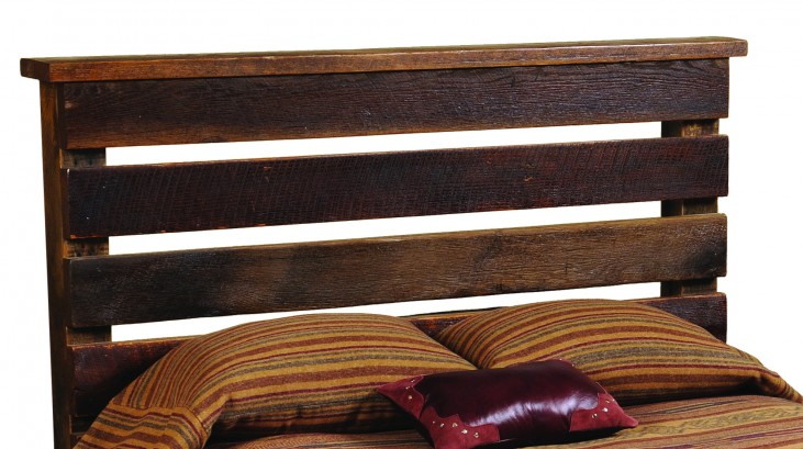 Barnwood Twin Homestead Headboard