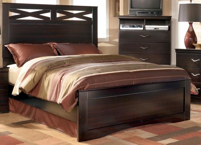X-cess Queen Panel Bed
