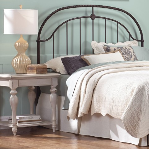 Cascade Ancient Gold Queen Headboard