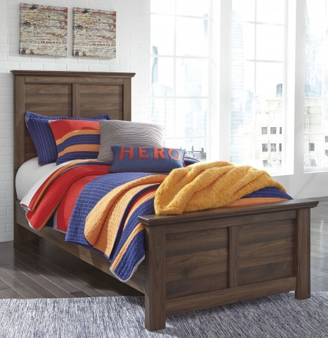 Burminson Brown Full Panel Bed