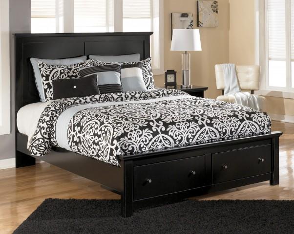 Maribel Queen Panel Storage Bed