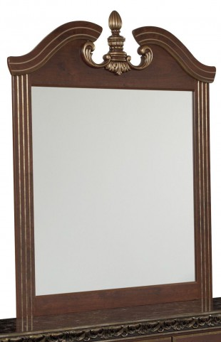 Naralyn Reddish Brown Bedroom Mirror
