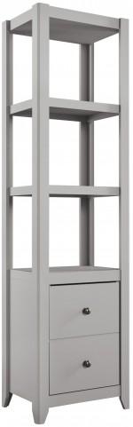 Javarin Gray Bookcase