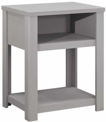 Javarin Gray Night Table
