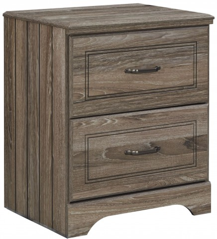 Javarin Grayish Brown Nightstand