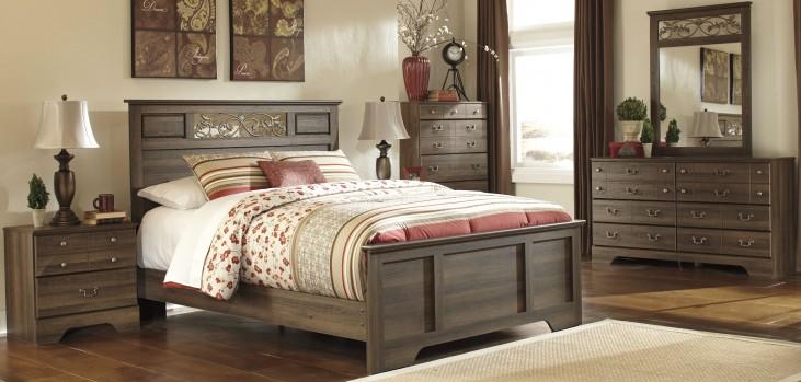 Allymore Panel Bedroom Set