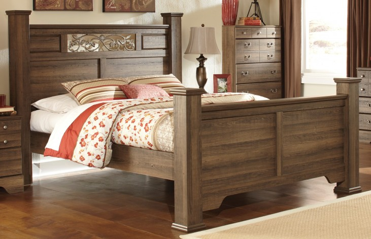 Allymore King Poster Bed