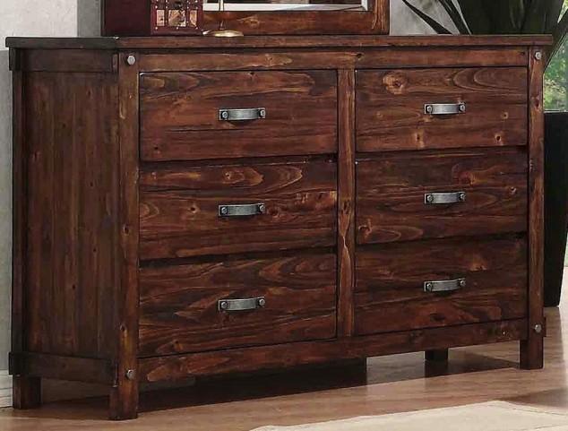 Noble Rustic Oak Dresser