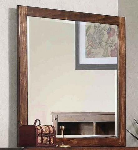 Noble Rustic Oak Mirror