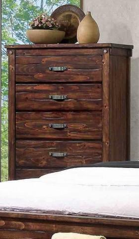 Noble Rustic Oak Chest