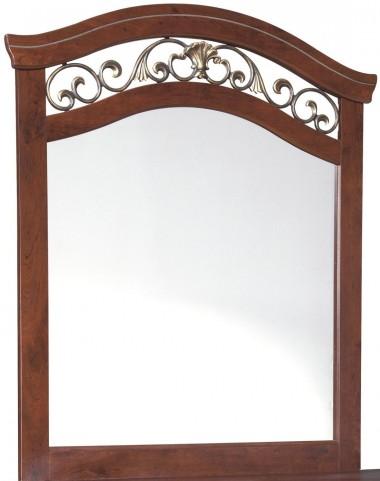 Delianna Brown Bedroom Mirror
