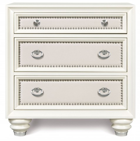 Diamond Drawer Nightstand