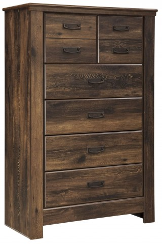 Quinden Five Drawer Chest