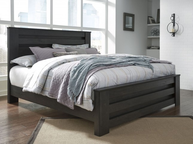 Brinxton Black Queen Poster Bed