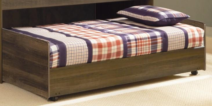Juararo Twin Loft Caster Bed