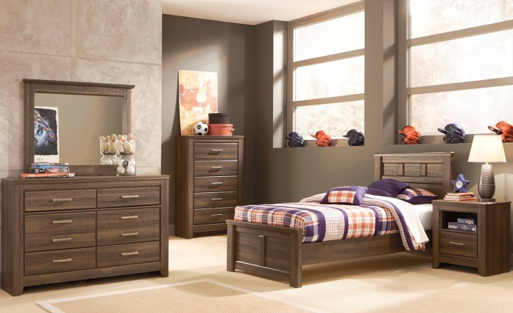 Juararo Youth Panel Bedroom Set