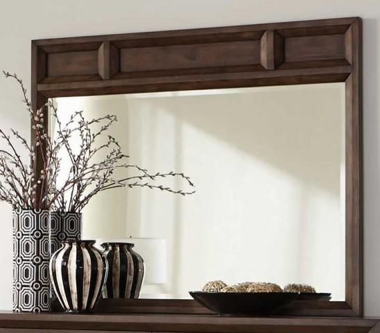 Bingham Brown Oak Mirror