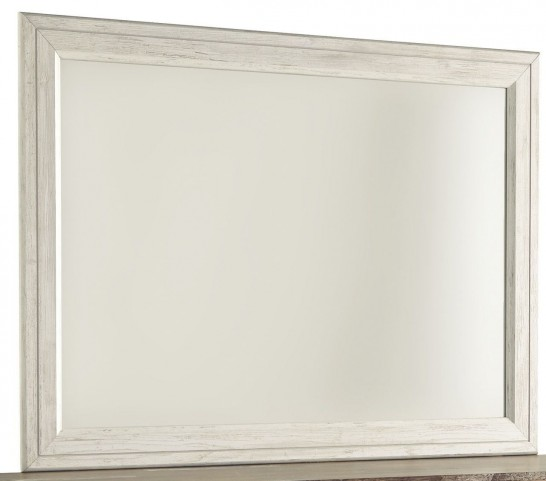 Willowton Whitewash Bedroom Mirror