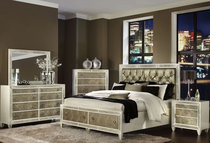 Monroe Panel Storage Bedroom Set