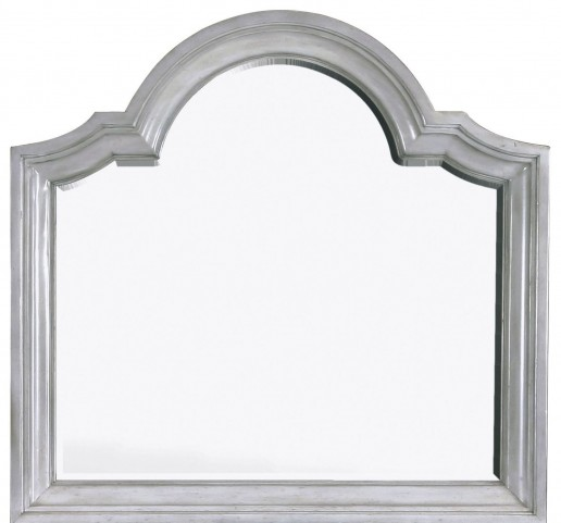 Windsor Lane Weathered Grey Wood Landscape Mirror