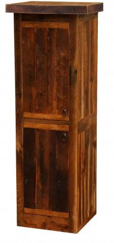 "Barnwood Left Hinged 24"" Linen Cabinet"