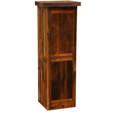 "Barnwood Right Hinged 24"" Linen Cabinet"