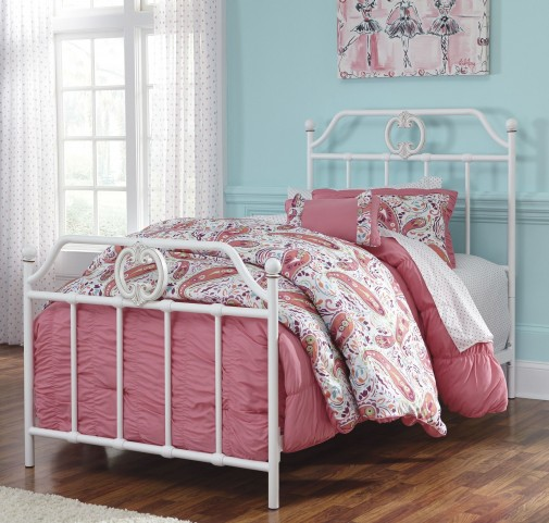 Korabella Twin Metal Bed