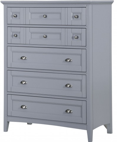 Graylyn Steel Drum Wood Media Chest