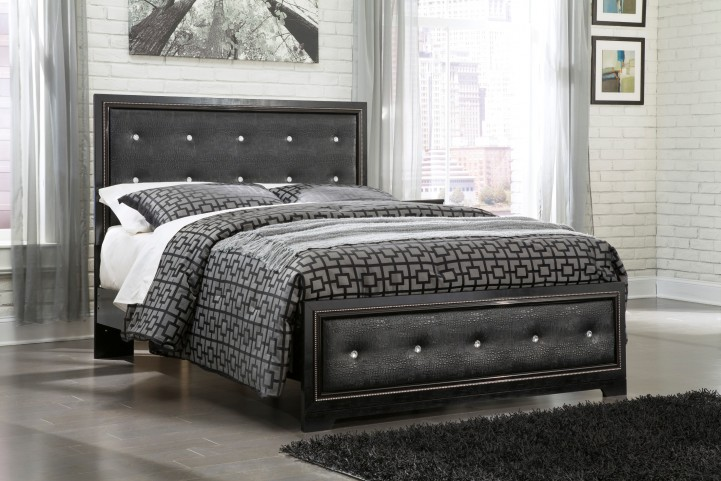 Alamadyre Queen Upholstered Panel Bed