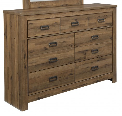 Cinrey Medium Brown Dresser