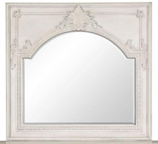 Davenport Weathered Parchment Landscape Mirror