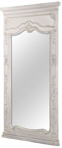 Davenport Weathered Parchment Floor Mirror