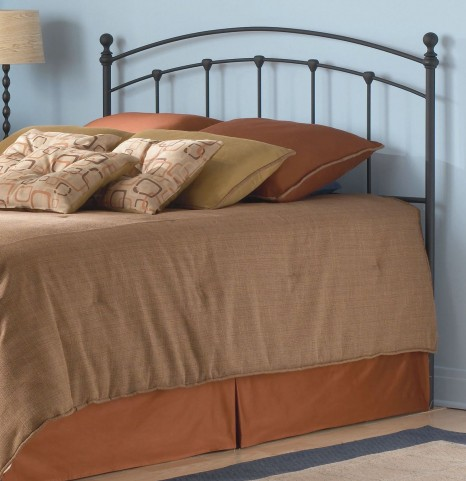 Sanford Matte Black Twin Headboard