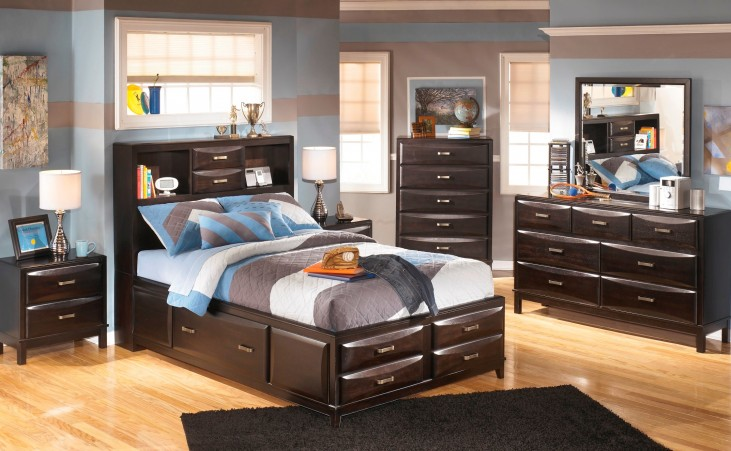 Kira Youth Storage Bedroom Set