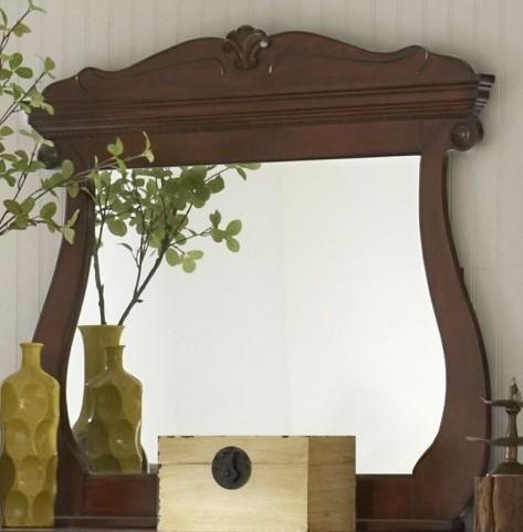 Chateau Vintage Cherry Landscape Mirror