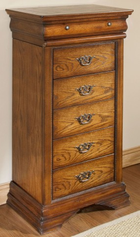 Shenandoah American Oak Lingerie Chest