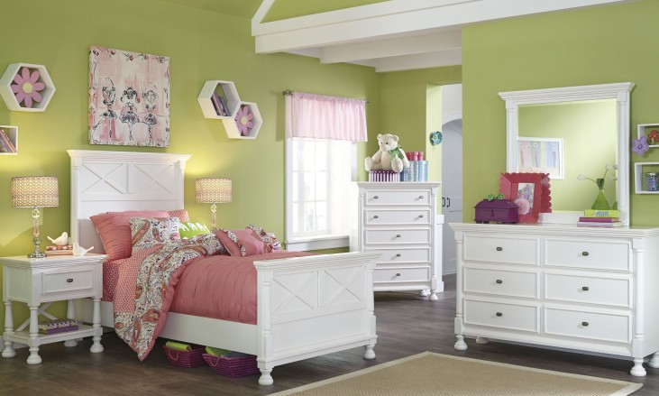 Kaslyn Youth Panel Bedroom Set
