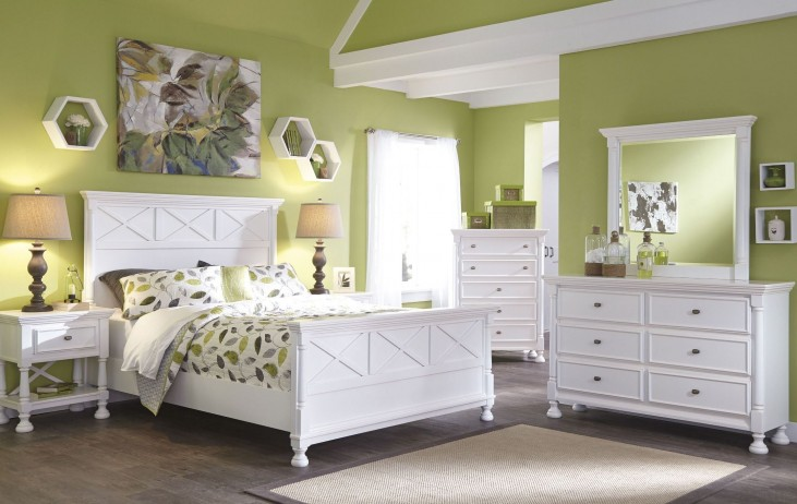Kaslyn Panel Bedroom Set