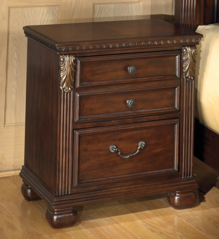 Leahlyn Two Drawer Nightstand