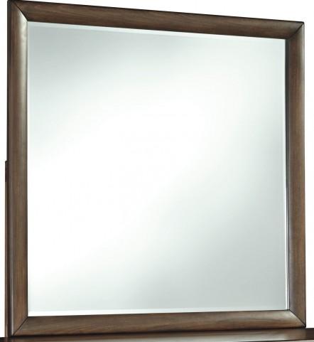 Debeaux Medium Brown Bedroom Mirror