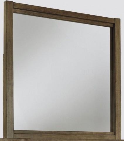 Fennison Light Brown Bedroom Mirror