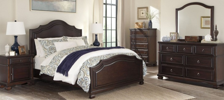 Brulind Brown Panel Bedroom Set
