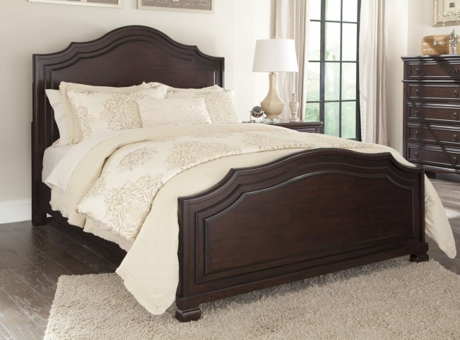 Brulind Brown Cal. King Panel Bed