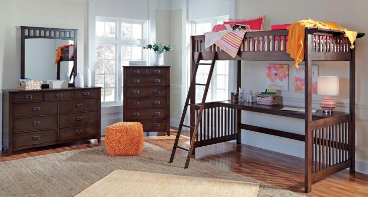 Strenton Loft Bedroom Set