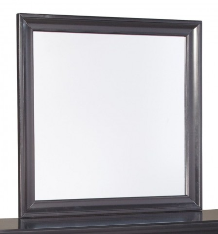 Braflin Black Bedroom Mirror